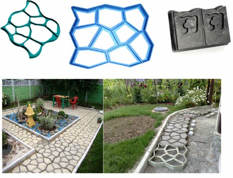 Mistr dla di forma na betonov chodn ky dom c - Como hacer un piso de hormigon ...